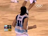 Argentina faces the USA for a spot in the final - Athens 2004 Olympic Games - Men's Basketball