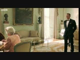 James Bond escorts The Queen to the opening ceremony - London 2012 Olympic Games
