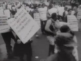 Peace March. Thousands Oppose Vietnam War, April 1967