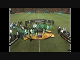 Trophy & Medal Ceremony -African Nations Cup 2013