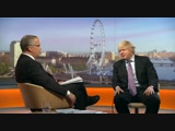 Boris Johnson Car Crash Interview on Andrew Marr Show