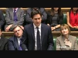 Ed Milliband Pays Tribute To The Late Magaret Thatcher
