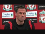 Jamie Carragher on retirement