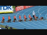 100m final Women - Moscow World Championships 2013