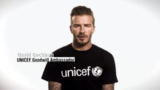 Help UNICEF tackle the Ebola crisis- David Beckham Appeal