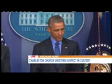 President Obama on Charleston Shootings